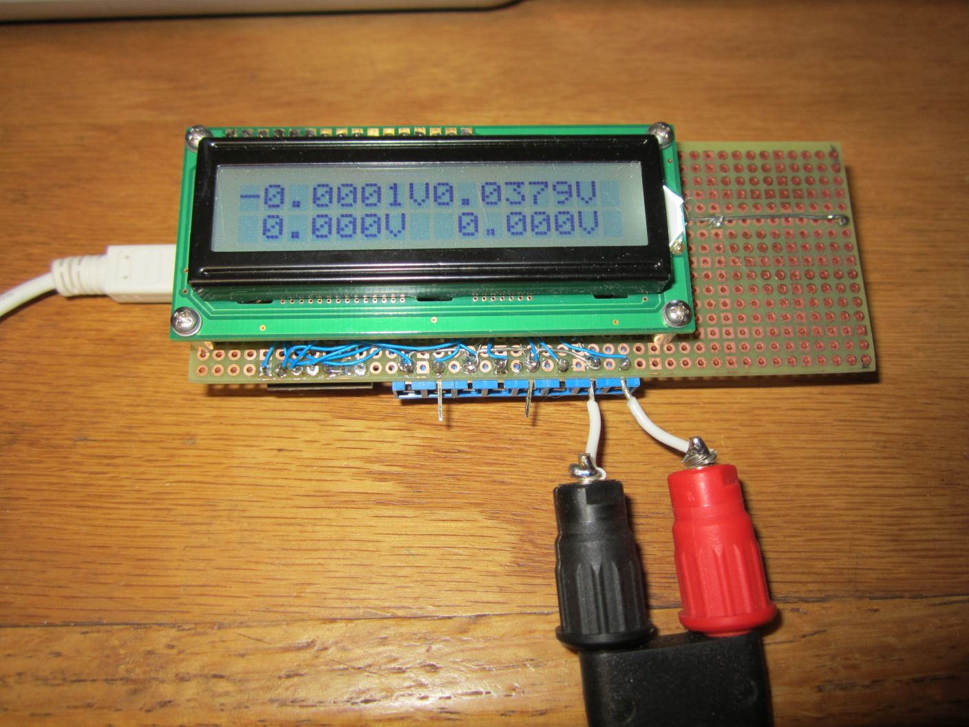 Digital Amp Meter Panel : Arduino compatible digital panel meter