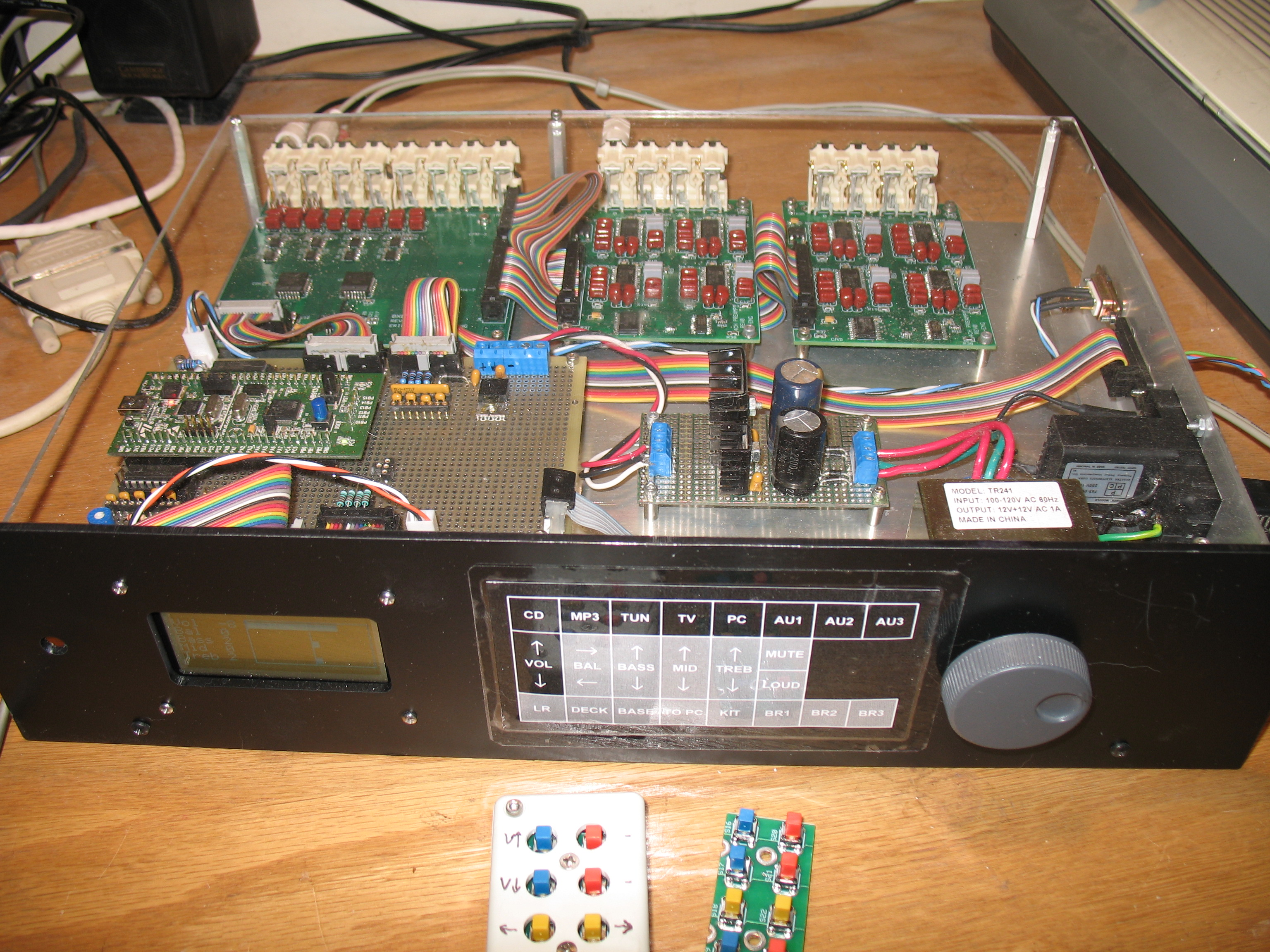 Multi Zone Stereo / STM32 Design Challenge page