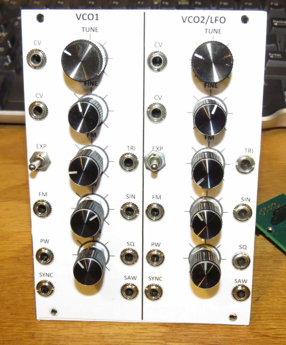Dave Erickson Diy Synth Eurorack Synthesizer Project Circuit Diaghram Of Low Frequency One As An Fm Source For The Second From Modulation Tremolo To High Synthesis Also Mixing A Fundamental And Harmonic