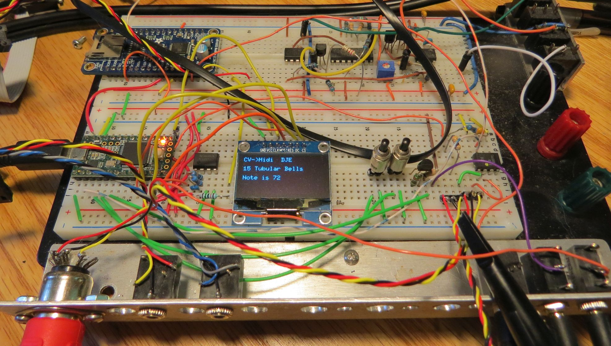 Dave Erickson DIY Synth Eurorack Synthesizer Project