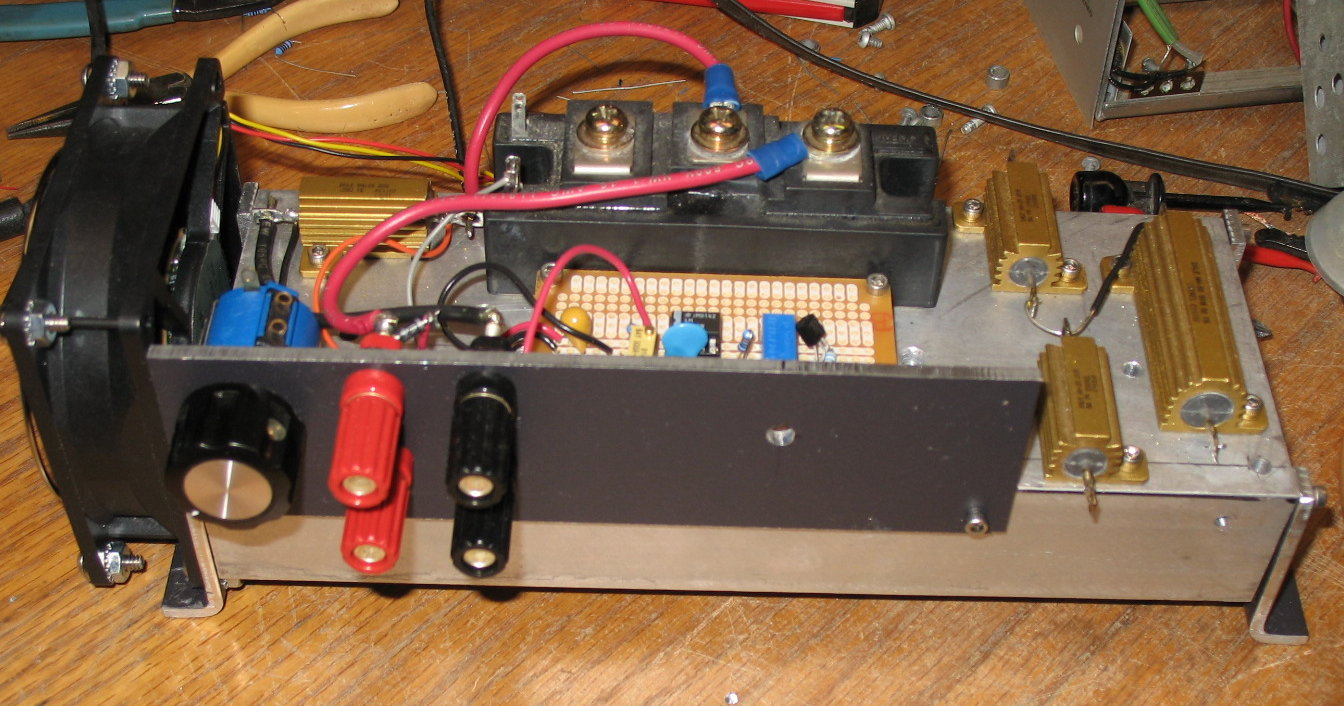 Power One Supply Hacker Page Most High Voltage Supplies Use A Circuit Called Load